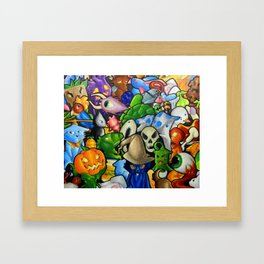 All terraria's pets Framed Art Print