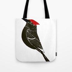 Birds- wood pecker Tote Bag