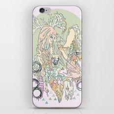 mountbatten pink & bones iPhone & iPod Skin