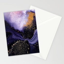 Flow I Abstract Stationery Cards