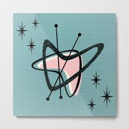 Atomic Boomerangs & Starbursts III Metal Print