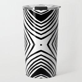 Converging pattern Travel Mug