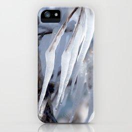 Watercolor Ice 32, Windy Slant iPhone Case
