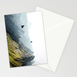 Mountain Scene Stationery Cards