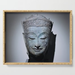 Crowned Buddha Serving Tray