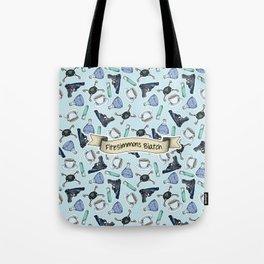 FitzSimmons Biatch Pattern Tote Bag