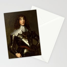 Anthony van Dyck - Charles Louis, Elector Palatine Stationery Cards
