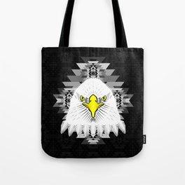 Geometric Eagle Tote Bag
