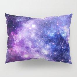 Galaxy Planet Purple Blue Space Pillow Sham