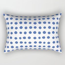 Blueberry Buddies are Forever Rectangular Pillow