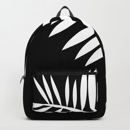 PALM LEAF WHITE LEAF Backpack
