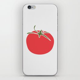 Red tomato iPhone Skin