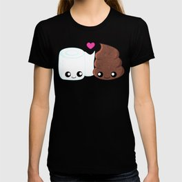 The Best of Friends - Toilet Paper and Poop T-shirt