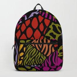Animal Patterns – Freeform Style Backpack