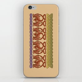 Red Dragons iPhone Skin