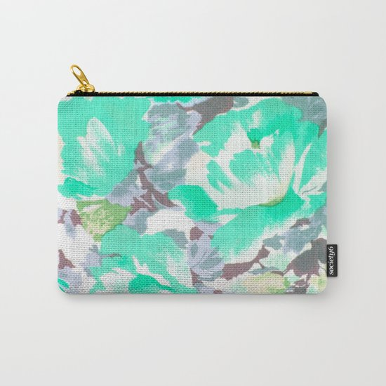 Floral 07 Carry-All Pouch