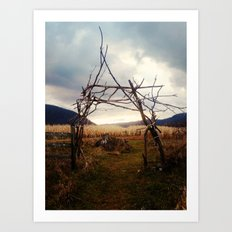 Enter Nature - Fall Edition Art Print