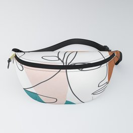 Abstract Faces 29 Fanny Pack