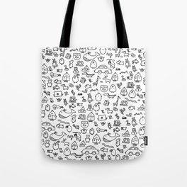 The TourBunny Pattern Tote Bag