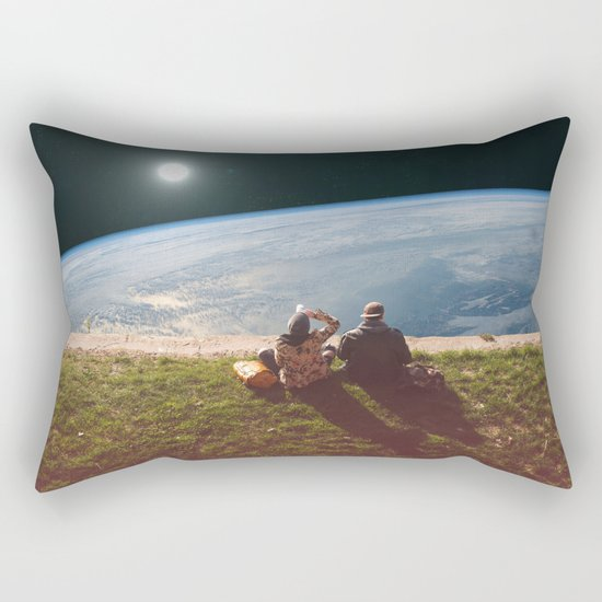Homesickness Rectangular Pillow