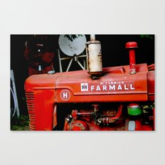 Farmall Canvas Print
