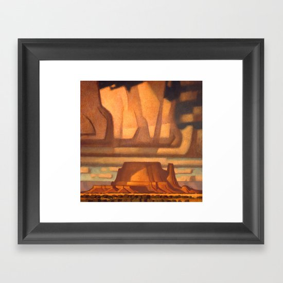 Mantrap Mesa Framed Art Print