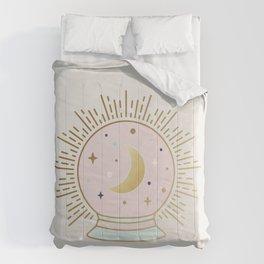 Magical Crystal Ball - tarot illustration Comforters