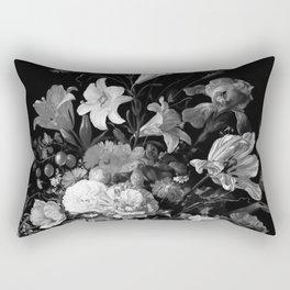 Still Life #2 Black & White Rectangular Pillow