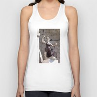 postcard Tank Tops featuring Rome postcard by Miz2017