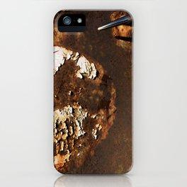 Rusted Truck Door iPhone Case