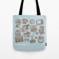 blue vintage  Tote Bag