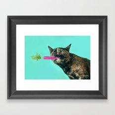 The Pink Carrot Framed Art Print