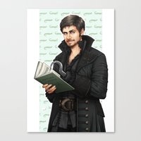 captain hook Canvas Prints featuring Hook by Alatherna