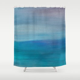 Ocean Mermaid Series, 3 Shower Curtain