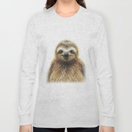 Young Sloth Long Sleeve T-shirt