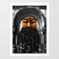 Total Black Art Print