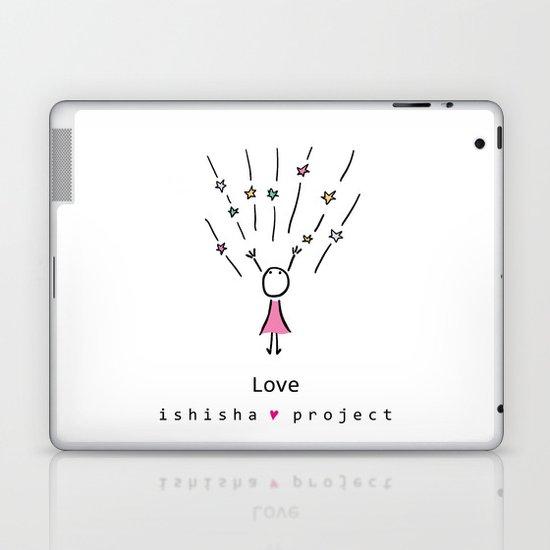 LOVE by ISHISHA PROJECT Laptop & iPad Skin