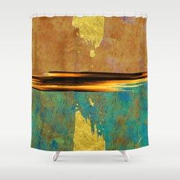 De Feu & De Glace Shower Curtain