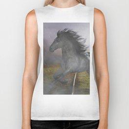 Horse in the Rain Biker Tank