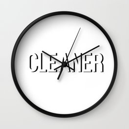 Broad City Cleaner 2 Wall Clock