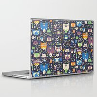 wild things Laptop & iPad Skins featuring Wild Things by Paula McGloin Studio