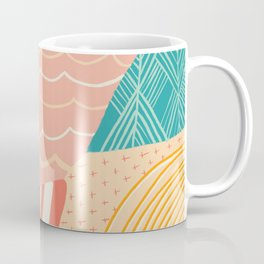beach quilt Coffee Mug