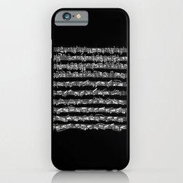 Bach Chaconne Solo Partita Violin iPhone Case
