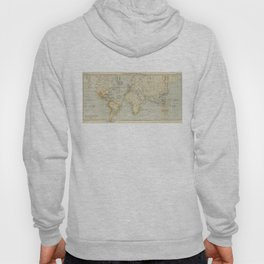Vintage Map of The World (1911) 2 Hoody