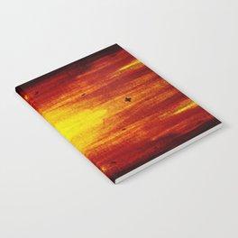 Orange Sunset Notebook