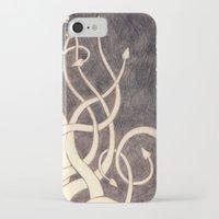kraken iPhone & iPod Cases featuring Kraken by cepheart