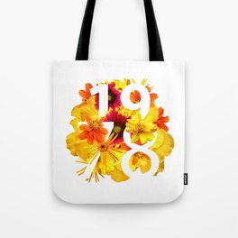 Flower 1978 Tote Bag