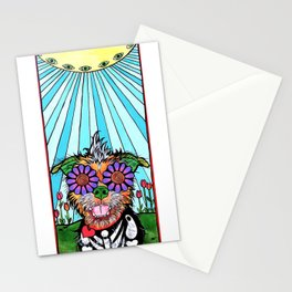 Scruffy Terrier Stationery Cards