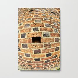 Bricks Metal Print