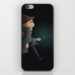 witchy emma iPhone Skin